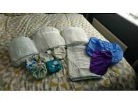 Birth to potty Cloth nappy bundle