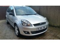 2007 56 ford fiesta 1.2 zetec climate 5 door hatchback f.s histoy full mot excellent condition.