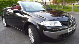 Renault Megane 1.6 VVT Dynamique, Full Red leather, 11 months M.O.T, Hpi clear,Cheap fuel,insurance