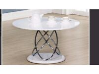 ECLIPSE COFFEE TABLE WHITE HIGH GLOSS