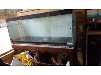 5 FT FISH TANK WITH STAND