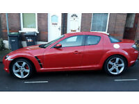 Lovely Mazda RX8, 192ps , full leather , drives good ,Mot available