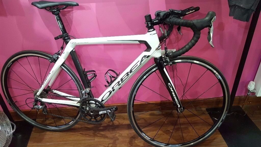 Orbea Onix Full Carbon Road Bike Upgrades In Sale Manchester