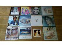 12 x steve hackett ( genesis ) vinyl collection LP's / 12 /
