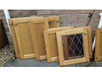various kitchen doors and 4 drawers