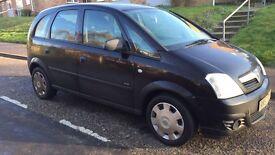 Vauxhall meriva 08
