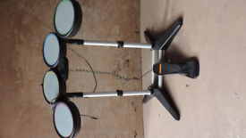 Playstation 3 drum set for use with Rockband Guitar Hero