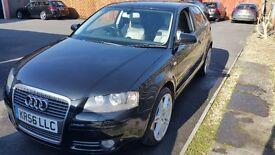 Audi a3 1.9tdi se black