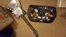Paper jamz guitar and drums