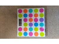 Spotty Argos bathroom scales with battery.
