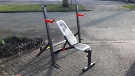 MAXI MUSCLE BENCH & SQUAT/WEIGHTS STANDS