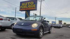 Volkswagen New Beetle Convertible  2006 AUTOMATIQUE/ CUIR/ AIR C