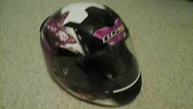 Ladies motor bike helmet size Small