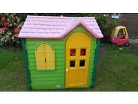 Little tikes country cottage playhouse. In good condition