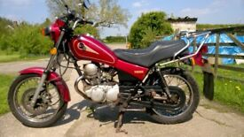 Yamaha SR125 , Very reliable and cheap motorcycle. Ready to ride, Mot'd till August 24th