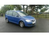 2008 vw touran 1.9 deisel 7 seater 6 speed long mot £3650