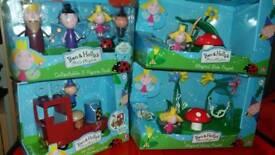 BNIB Ben & Holly Toys