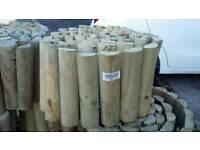 Log Roll. 2.4 m long x 20cm high (see label)