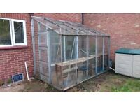 Large Lean-to Greenhouse in good condition