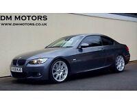 2008 BMW 335D M SPORT AUTO COUPE 400BHP NATIONWIDE DELIVERY, WARRANTY, MINIMUM £200 PART EX, BARGAIN