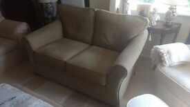 Green Two Seater Sofa