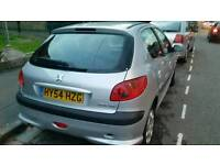 Peugeot 206 reg 54 , 1.4 HDi £30 tax a year, 12 months MOT full history £700
