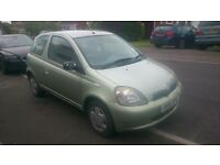 TOYOTA YARIS 1.3 16v VVT-i GLS 3 DOOR AUTOMATIC 2001 (51) VERY LOW MILEAGE