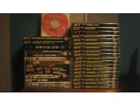 Ufc dvd collection / bundle / set / job lot