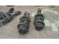 Subaru Impreza sti widetrack shocks and springs