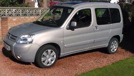 2008 Citroen Berlingo Mulltispace 1.6 TD. Practical, reliable, economical, fun to drive, cherished.