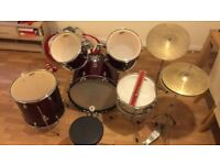 Performance Percussion Drum Set Needs to go