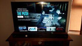 """43"""" LED Toshiba Tv and LG Soundbar"""