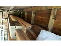 Large timber garage