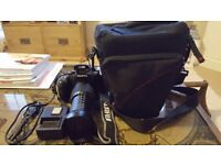 Fujifilm Finepix HS50 EXR, box, 16gb memory card, carrying case. Immaculate condition!
