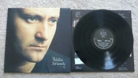 Phil Collins But Seriously LP fantastic condition (masterdisk pressing)