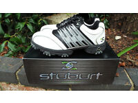 Stuburt Helium Junior White, Black & Silver Golf Shoes UK 3, US 4, EU 35 BNIB.