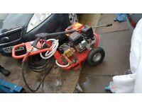 Clarke pls195 heavy duty petrol presure washer