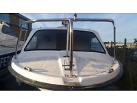 17' Fishing Boat + Outboards + Trailer