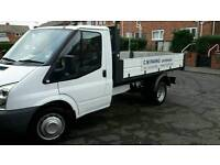 Ford transit dropside tipper