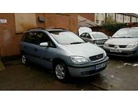 2002 Vauxhall Zafira 1.8 Automatic - Low Mileage