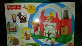 Fisher price little people farm brand new