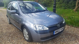 LOVELY 1.0 LITRE CORSA !!!! 2003, LOW MILEAGE WITH HISTORY, ONE FAMILY OWNED FROM NEW !!