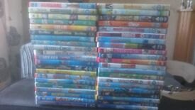 childrens mixed dvds (42 in total)