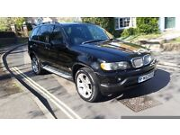 2002 BMW X5 4.4I LPG CONVERSION BLACK FULL SERVICE HISTORY MOT NOV 17 DVD PLAYER REAR SCREENS