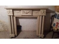 Wooden Fire Place/Surround