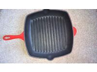 red grill pan
