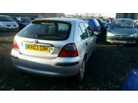 2003 ROVER 25 1.4 PETROL , , EXCELLENT RUNNER , , CHEAP CAR