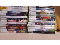 Excellent condition Xbox 360 Elite and Kinect bundle with 27 games