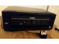 Black Epson XP-322 wifi printer, scanner and copier
