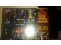 HORROR 8 DVDS